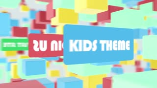 After Effects CS4 Template: Kids Theme Promo