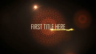 After Effects CS4 Template: Maya Titles