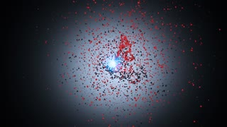 After Effects CS4 Template: Particle Spin Logo