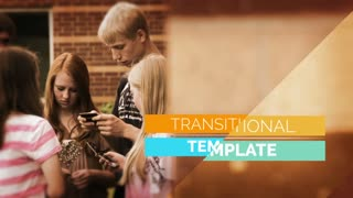 After Effects CS5 Template: Transitional