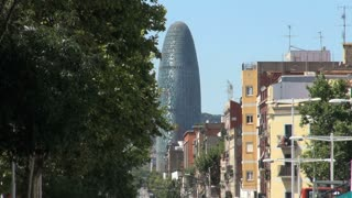 Agbar Tower in Barcelona Spain 4