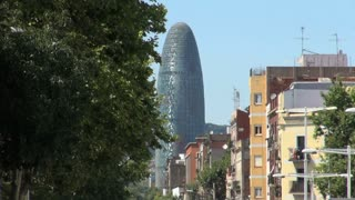 Agbar Tower in Barcelona Spain 5