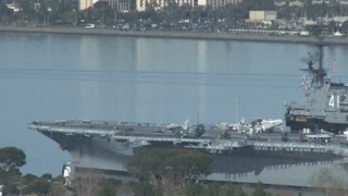 Aircraft Carrier Jets on USS Midway