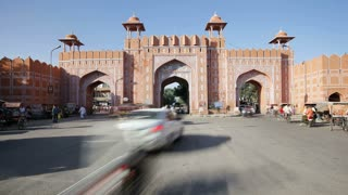 Ajmeri Gate, The Pink City of Jaipur, Rajasthan, India