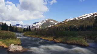 Alaskan Mountain Stream