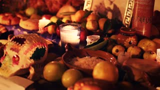 Altar for the day of the dead, Mexico