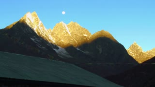 Ama Dablam Himalayan Mountain in Early Morning 8