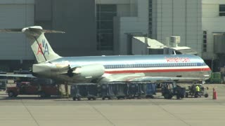 American Airlines Plane at Airport