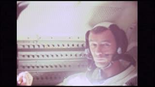 American Astronaut in Module