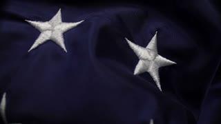 American Flag Stars Closeup 1