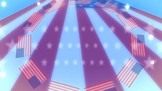 American Flags Flare