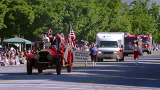 American Red Cross in Parade