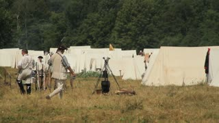American Revolution Large Camp