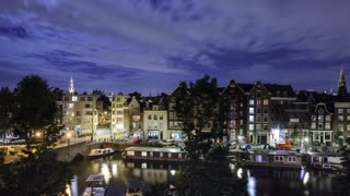 Amsterdam Night Time Lapse