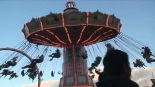 Amusement Park Chair Spin