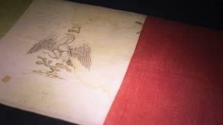 Antique Mexican flag