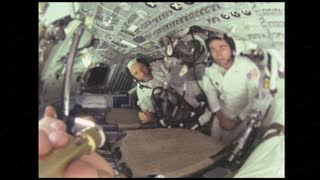 Apollo 10 Astronauts Passing Tools Back and Forth