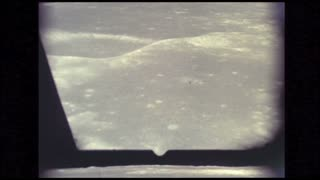 Apollo 10 Flying Over Moon
