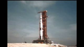Apollo 11 Lifting Off