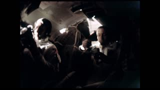 Apollo 12 Astronauts Eating
