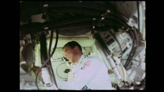 Apollo 9 Astronaut at Work