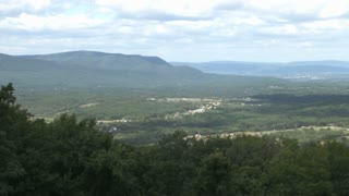 Appalachian Mountains Valley Panning View