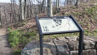 Appalachian Trail Signpost