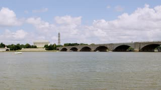 Arlington Memorial Bridge To Monument