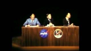 Armstrong Talking About Landing on Surface of the Moon