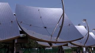 Array of Solar Panels in Desert 12
