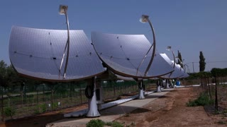Array of Solar Panels in Desert 2
