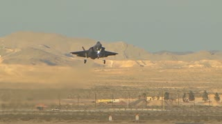Arrival of F-35 Lightning II Nellis AFB