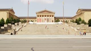 Art Museum Steps