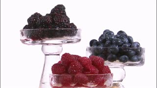 Assorted Berries in Tiered Trays 2