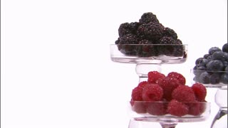 Assorted Berries in Tiered Trays 3