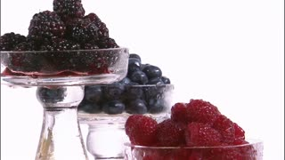 Assorted Berries in Tiered Trays 5