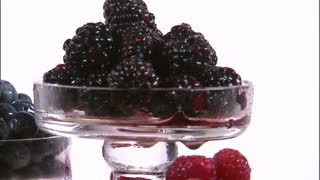 Assorted Berries in Tiered Trays 6
