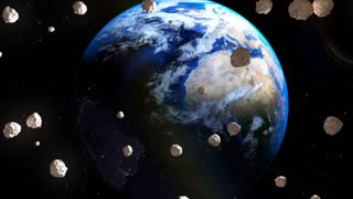 Asteroids coming close to Earth from deep space