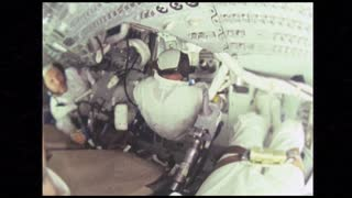 Astronaut Doing Flips in Zero Gravity
