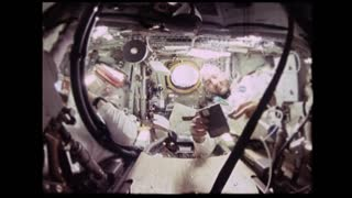 Astronaut Flipping Tools in Zero Gravity