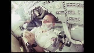 Astronaut Shaving