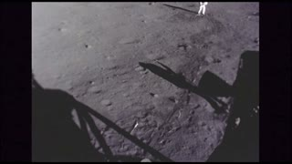 Astronauts on Moon Surface Timelapse