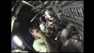 Astronauts Shaving on Apollo 10