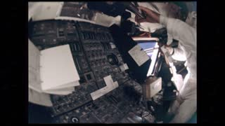 Astronauts Tools Floating Around Apollo 12 Cabin