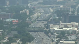 Atlanta Downtown Freeway Traffic 3