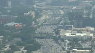 Atlanta Downtown Freeway Traffic 4