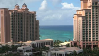 Atlantis Hotels and Buildings Against Ocean