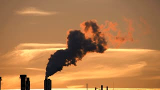 atmosphere climate. energy. industrial industry. pollution smoke smog dirty