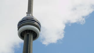 Atop the CN Tower in Toronto