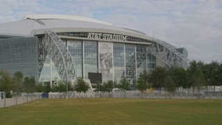 AT&T Football Stadium in Texas